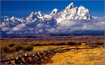 The Tetons, Jackson Hole, Wyoming
